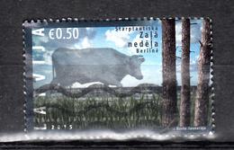 Letland 2015 Mi Nr 934 Natuur, Rund - Letland