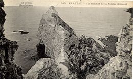 76 Le Littoral - ETRETAT - Au Sommet De La  Falaise D'Amont - L.J. N° 953 - Etretat