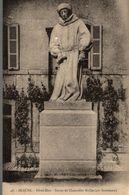 21 BEAUNE HOTEL-DIEU STATUE DU CHANCELIER ROLLIN PAR BOUCHAUD - Beaune