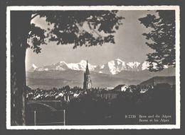 Bern - Bern Und Die Alpen - BE Berne