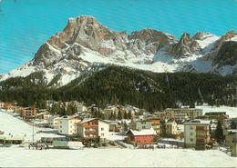 San Martino Di Castrozza (Trento) Scorcio Panoramico Invernale E Monte Cimone, Partial View, Vue, Ansicht - Trento