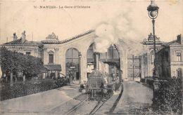 ¤¤  -  NANTES   -  La Gare D'Orléans   -  Train , Chemin De Fer   -  ¤¤ - Nantes