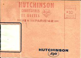 Lettre  EMA Havas Cg Hutchinson Chaussures Aigle Theme Animaux Oiseau Metier  B/1487 - Postmark Collection (Covers)