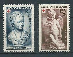 FRANCE 1950 . N°s 876 Et 877 . Oblitérés. - France