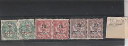 MAROC - Yvert 28 + 29  + 31 * En Paire Neufs Avec Charnière - 2 Scan - Marocco (1891-1956)