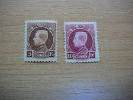 (15.03) BELGIE 1922   Nrs 218 En 219   CW 21.00 - 1921-1925 Small Montenez