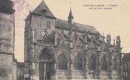 CARTE. EN FM. 26 3 15. TRAIN SANITAIRE S P . PONT DE L'ARCHE POUR NICE - Postmark Collection (Covers)