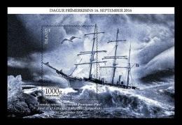 Iceland 2016 Mih. 1507 (Bl.64) Ship Pourquoi-Pas? Memorial MNH ** - 1944-... Republic
