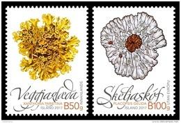Iceland 2017 Mih. 1535/36 Flora. Mushrooms. Lichens MNH ** - 1944-... Republic