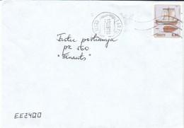 Estland 1997  Brief Mit/ Letter With  MiNr. 302  Schiff  Auf Ortsbrief Von TARTU ; Fehler/fault - Estonia