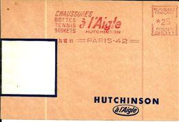 Lettre  EMA Havas Cg Hutchinson Chaussures Bottes Tennis Baskets Theme Animaux Oiseau Metier  B/1490 - Postmark Collection (Covers)