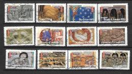 2010 - 5 - 455 à 466 Oblitéré - Art Roman - France