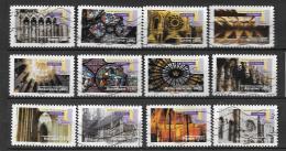 2011 - 10 - 552 à 563 Oblitéré - Art Gothique - France