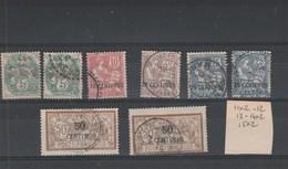 MAROC - Yvert N° 11 X 2, 12, 13, 14 X 2, 15 X 2 Oblitérés - Used Stamps
