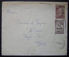 """ARGENTINE: N°604A Avec """"piquage Décalé"""" Sur LSC De 1967 - Argentinien"""