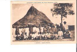 C.P.A. BENIN   Eglise D'URUKU - Benin