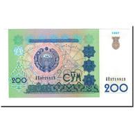 Billet, Uzbekistan, 200 Sum, 1997, KM:80, NEUF - Ouzbékistan