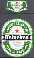704 - Heineken Lager Beer - Bière De Prestige - Bière