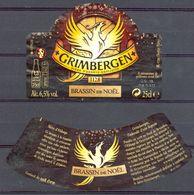 705 - Grimbergen - Brassin De Noël - - Bière