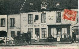 N°4056 A -cpa Tourouvre -hôtel De France- - France