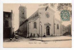 - CPA REYNIER (Six-Fours / 83) - L'Eglise 1904 (avec Personnages) - Photo E. Lacour 1572 - - Six-Fours-les-Plages