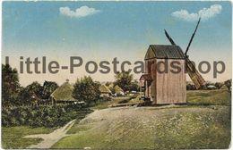 AK Les Typs Et Les Vues Du Ukraina Moulin Windmühle Ukraine Feldpost 1917 Widoki I Typy Ukrainy - Guerre 1914-18
