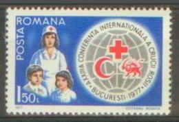 ROMANIA 1977 MNH** - Red Cross - Mi 3435 - Croix-Rouge