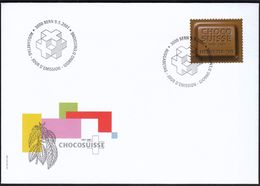 Switzerland 2001 / CHOCO SUISSE / Centenary Of Swiss Chocolate / FDC - FDC