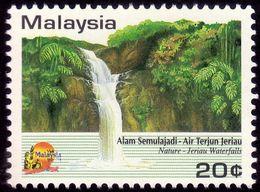 MALAYSIA 1984 Visit Malaysia Year Jeriau Waterfall 1v MNH @R4 - Malaysia (1964-...)