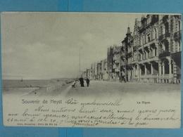 Souvenir De Heyst La Digue - Heist