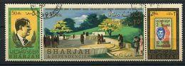 Sharjah Ob Michel N° 333 A à 335 A - J.F Kennedy - - Sharjah