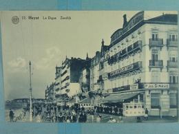 Heyst La Digue Zeedijk - Heist
