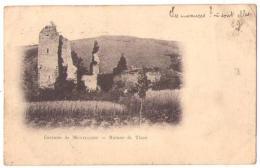 (03) 334, Tizon, Ruines De Tizon, Dos Non Divisé - Autres Communes