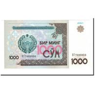 Billet, Uzbekistan, 1000 Sum, 2001, KM:82, NEUF - Ouzbékistan