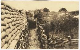 CPA Guerre 1914  Boyau De La Mort à Dixmude  (tranchée ) - Guerre 1914-18