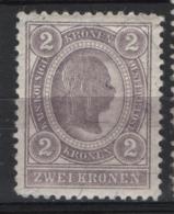 Austria 1899 Unif. 78 */MH VF/F - 1850-1918 Impero