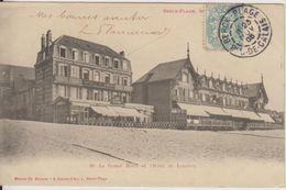 D62 - BERCK PLAGE - LOT DE 2 CARTES - LE GRAND HOTEL ET L'HOTEL DE LONDRES - GRAND HOTEL DE LA PLAGE - Berck