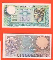 500 Lire Mercurio 1979 Repubblica Italiana - 500 Lire
