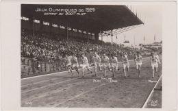 1924 PARIGI VIII Giochi Olimpici Arrivo Degli 800 Metri Nuova - Lettres & Documents
