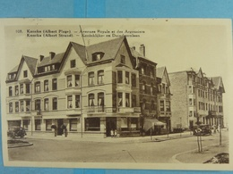 Knocke (Albert Plage ) Avenue Royale Et Des Argousiers - Knokke