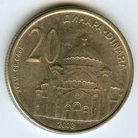 Serbie Serbia 20 Dinara 2003 KM 38 - Serbie