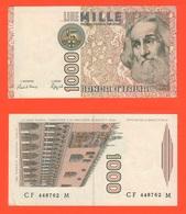 1000 1.000 Lire Marco Polo 1984 Repubblica Italiana Ciampi Stevani - [ 2] 1946-… : Repubblica