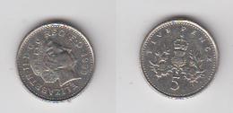 5 PENCE 1999 - 1971-… : Monnaies Décimales