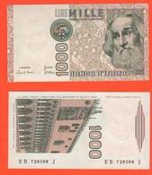 1000 1.000 Lire Marco Polo 1983 Repubblica Italiana Ciampi Stevani - [ 2] 1946-… : Républic