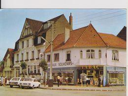 D62 - STELLA PLAGE-LA PLACE DES ETATS UNIS-AU COEUR DE LA COTE D'OPALE-(HOTEL DES DUNES-TABAC-FORD ESCORT-RENAULT 16) - Frankrijk