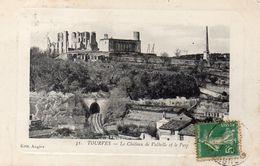 CPA TOURVES - LE CHATEAU DE VALBELLE ET LE PARC - France