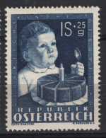 Austria 1949 Unif. 767 **/MNH VF - 1945-.... 2nd Republic