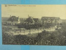 Knocke Zoute L'Avenue Elisabeth Et L'Hôtel Du Sablon - Knokke