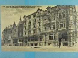 Knocke S/M Etat De La Digue, Villas Et Hôtels 1918-1919 - Knokke
