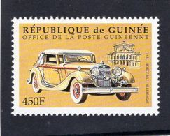 République De Guinée  -  Horch V12 - Voiture Fabriquer En Allemagne  -  1v  Neuf/Mint - Autos